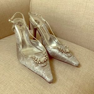 J.Renee silver shoes